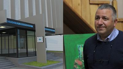 მსოფლიოში ცნობილმა მხატვრმა ს. ხეჩინაშვილის სახ. საუნივერსიტეტო კლინიკას ტილოები უსახსოვრა!